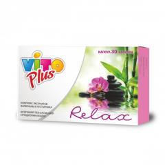 Vito Plus Relax комплекс экстрактов валерианы и