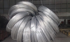 Wire knitting galvanized t / about ø 0,8 mm