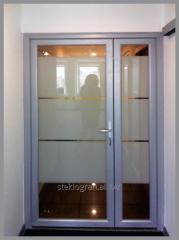 Glass at doors