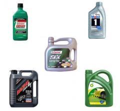 Semi-synthetic motor oils