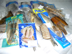 Cold-smoked fish of som