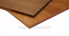 The wood chipboard laminated