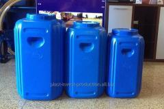 Polyethylene barrel
