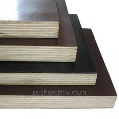 Timbering from plywood