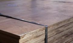 Plywood 2,44*1,22 sizes of 6 mm, 9 mm, 12 mm, 15