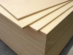 Plywood of moisture resistant 6-9 mm