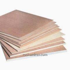 Plywood waterproof polished 6,5; 9; 12; 15; 18; 21