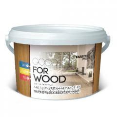 Varnish parquet polyurethane - acrylic glossy Good
