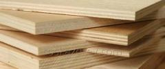 Plywood slow-burning for a timbering