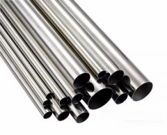 Pipes round/profile of stainless steel