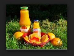 Orange juice Orhei-Vit, 1 l, glass
