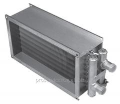 Водяной нагреватель для прямоугольных каналов Shuft WHR 600x350-2