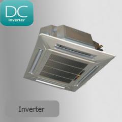 Кондиционер кассетного типа AUX inverter ALCA-H18/4DR1 + AL-H18/4DR1U+ MB13