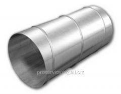Спирально навивной воздуховод изделия из оцинкованной стали 0,5мм