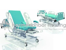 Chair-bed for childbirth and obstetric aid of KMP