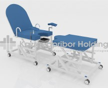 Chair-bed for childbirth and obstetric aid with