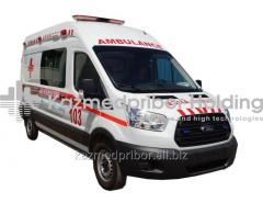 The reanimobile on the basis of FORD TRANSIT 350 L