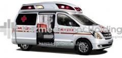The reanimobile on the basis of HYUNDAI H - 1