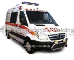 The reanimobile on the basis of MERCEDES-BENZ