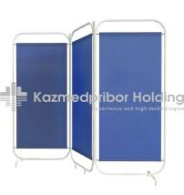 Screen 3-folding Bolon fabric without Sh-03 wheels
