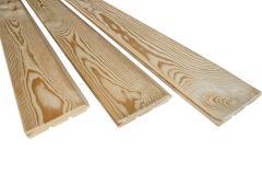 Вагонка лиственница текстурированная 14х85х5м сорт