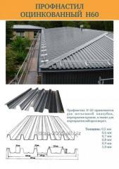 Professional flooring galvanized thickness 0,6 -