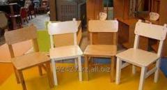 School desk for preschool children