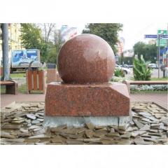 Spheres granite, Granite spheres, Spheres from