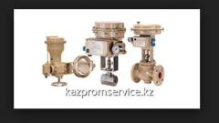 Pneumatic adjusting valve type 3310 and type