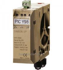 Электропневматический преобразователь для пневматических сигналов, P/I преобразователь  тип 6134