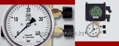 Дифманометр с электрическим преобразователем и стрелочным индикатором Медиа 4 А  2-х проводной тип 5014