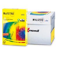 L MAESTRO A4 500 paper. 80 g yellow neon (5)
