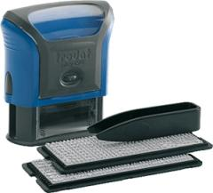 Stamp self-type-setting TRODAT 47*18 4 lines blue