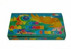 Plasticine 5 tsv. children's (65)