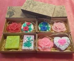 Подарочный набор в крафт-коробке с оформлением