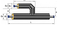 Tee parallel ST 1020*11/426*7-2-PPU-PE