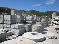 Production of concrete goods