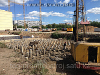 Blockage of piles with application of warranty