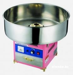 The device for production of cotton candy, cotton