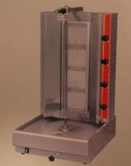 The device for preparation of shawarma (gas)