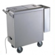 The cart with heating with box for towels