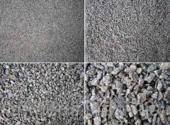 Crushed stone fractional, 0 - 60