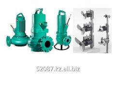 The pump and mixer for pumping of production and