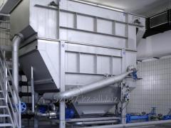 Flotator for sewage treatmen