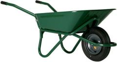 Wheelbarrow construction palisad