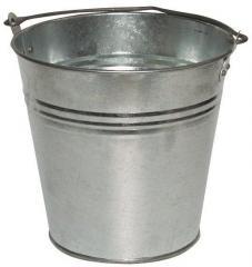 Bucket metal