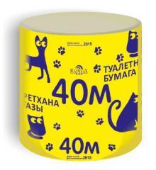 Toilet paper of 40 meters