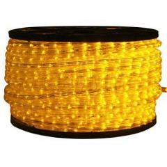 Дюралайт ламповый желтый 10мм