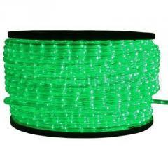 Дюралайт ламповый зеленый 10мм