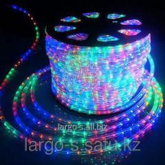 Дюралайт ламповый цветной 10мм